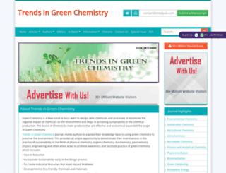 green-chemistry.imedpub.com screenshot