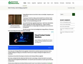 green-energy-efficient-homes.com screenshot