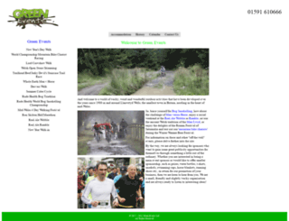 green-events.co.uk screenshot
