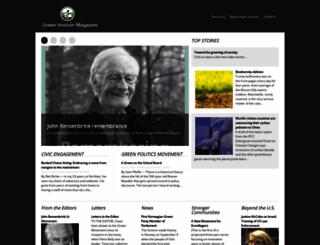 green-horizon.org screenshot