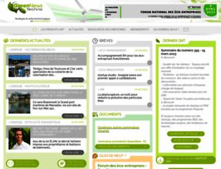 green-news.net screenshot