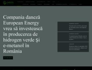 green-report.ro screenshot