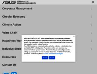 green.asus.com screenshot