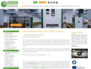 green.cz screenshot