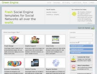 green.dulisha.com screenshot