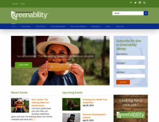 greenabilitymagazine.com screenshot