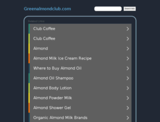 greenalmondclub.com screenshot