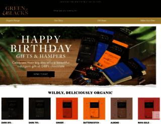 greenandblacksdirect.com screenshot