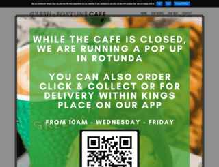 greenandfortunecafe.co.uk screenshot