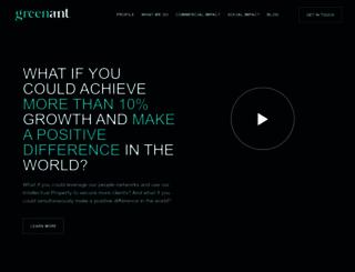 greenantmarketing.com screenshot