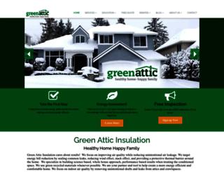 greenatticinsulation.com screenshot