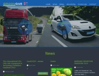 greenautogas.pl screenshot