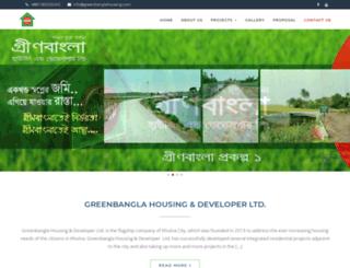 greenbanglahousing.com screenshot