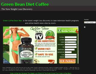 greenbeandietcoffee.blogspot.com screenshot