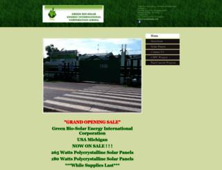greenbiosolar.com screenshot