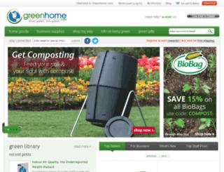 greenblog.greenhome.com screenshot