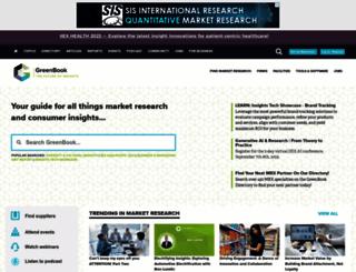 greenbook.org screenshot