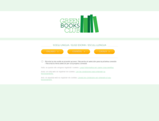 greenbooksclub.com screenshot
