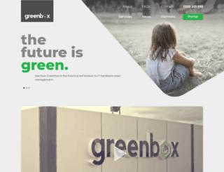 greenbox.com.au screenshot