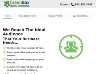 greenboxdigitalmarketing.com screenshot