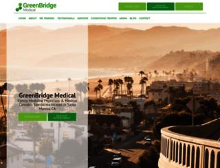 greenbridgemed.com screenshot
