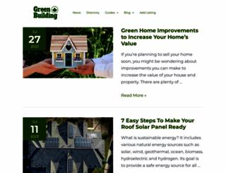 greenbuildingcanada.ca screenshot