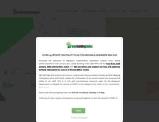 greenbuildingindex.org screenshot