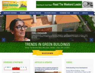greenbuildings.theweekendleader.com screenshot