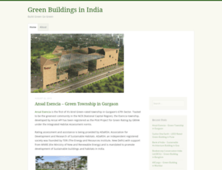 greenbuildingsindia.wordpress.com screenshot