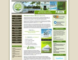 greenbusinessalliance.com screenshot