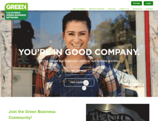 greenbusinessca.org screenshot