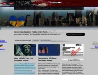 greencard-us.org screenshot