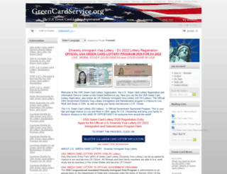 greencardservice.org screenshot