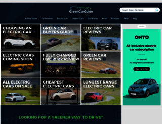 greencarguide.co.uk screenshot