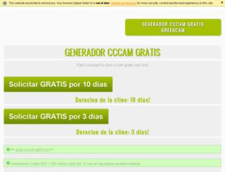 greencccamfree.ddns.net screenshot