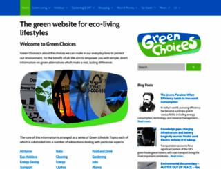 greenchoices.org screenshot
