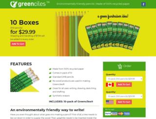 greenciles.com screenshot