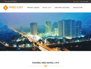 greencity.phucat.net screenshot