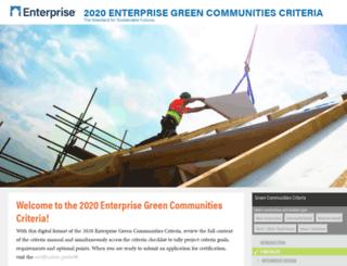 greencommunitiesonline.org screenshot
