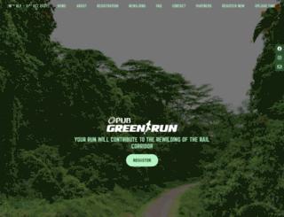 greencorridorrun.com.sg screenshot