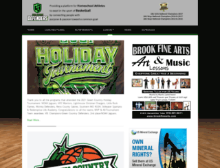 greencountrydefenders.org screenshot
