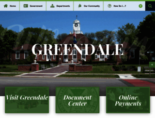 greendale.org screenshot