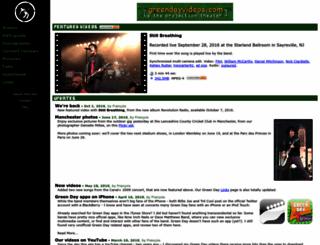 greendayvideos.com screenshot