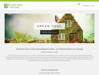 greendealadvisersuk.com screenshot