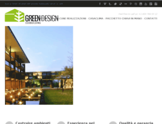 greendesign-ecobuilding.com screenshot