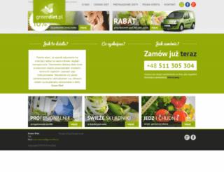 greendiet.pl screenshot