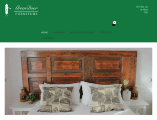 greendoorfurniture.co.za screenshot