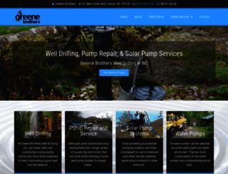 greenebrothersdrilling.com screenshot