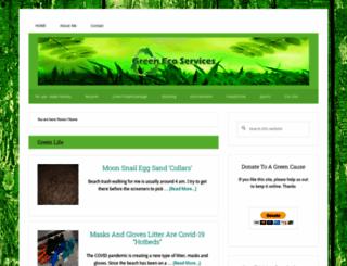 greenecoservices.com screenshot