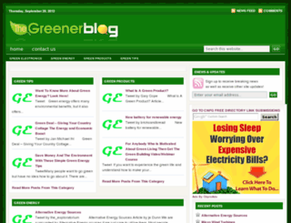 greenerenergyonline.com screenshot